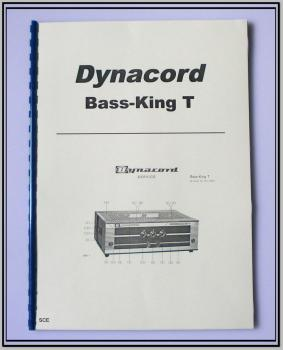 Dynacord Bass-King-T / technische Unterlage