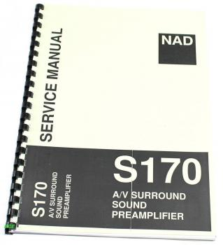 NAD S-170 / Preamplifier / Service-Manual